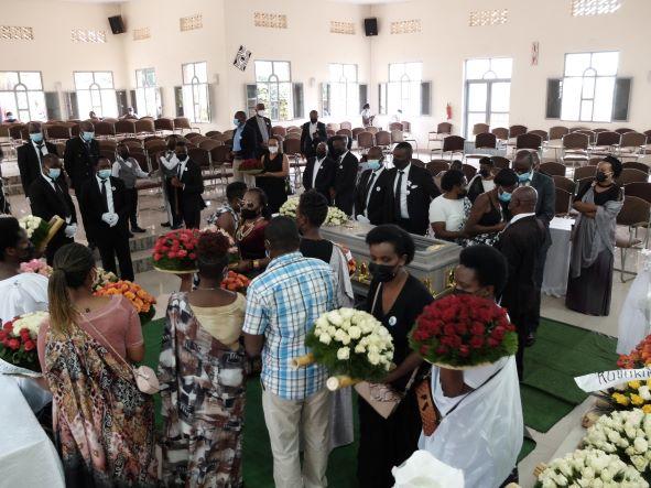PIASSの同僚アベルさんの葬儀(7月)